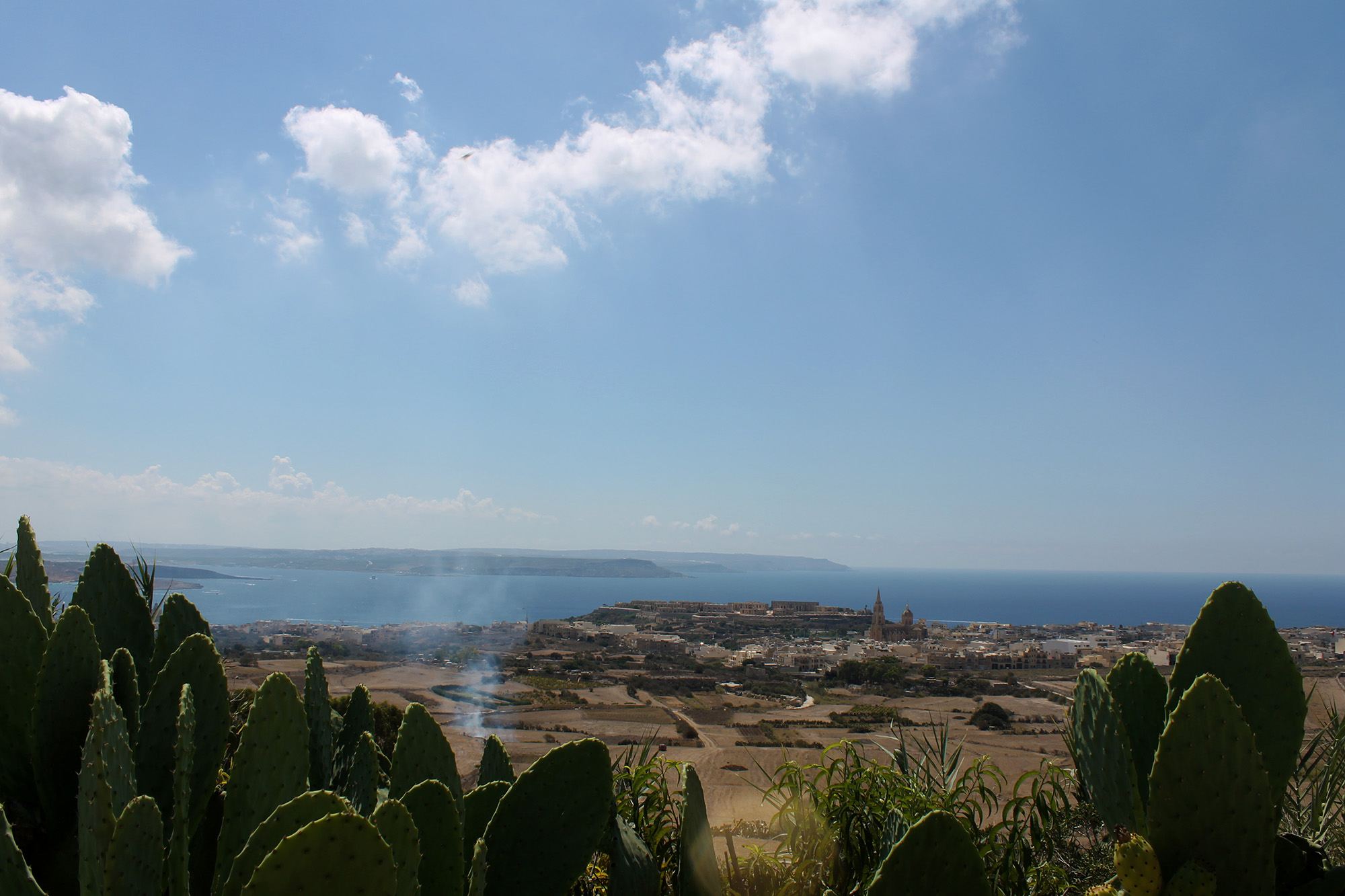 Vista di Gozo